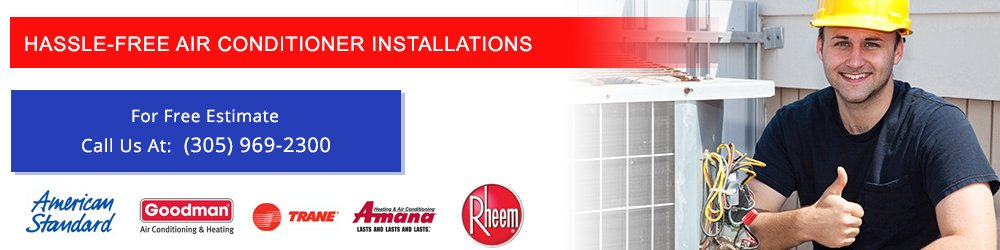 Free Air Conditioner Installations