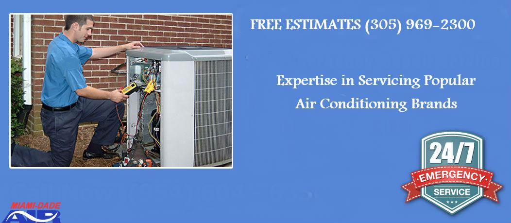AC condenser repair
